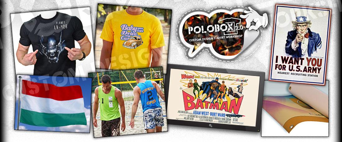 ad43f24323 PoloBox az egyedi pólók birodalma, pólónyomás közvetlen a pólóra, mert az  leszel, amit felveszel ... 2019. június 7. péntek, Róbert névnapja van, ...